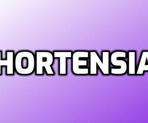 nombre Hortensia