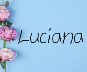 nombre Luciana