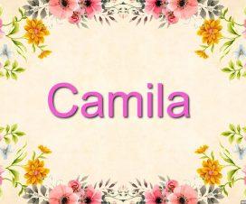 Nombre-Camila