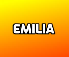 Origen del nombre Emilia