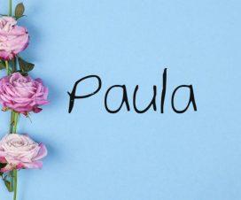 Origen del nombre Paula
