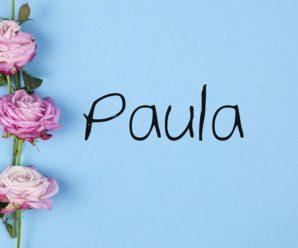 nombre Paula