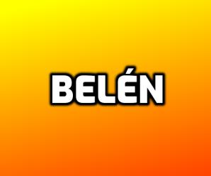 nombre Belén