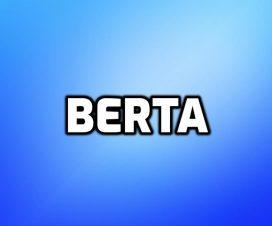 Significado del nombre Berta