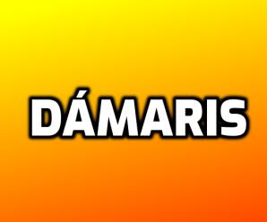 nombre Dámaris