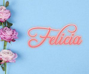 nombre Felicia