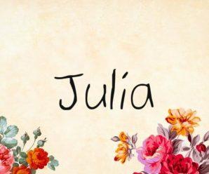 nombre Julia