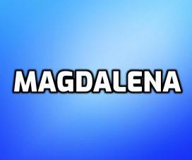 Significado del nombre Magdalena