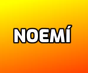 nombre Noemí