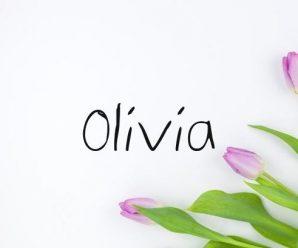 nombre Olivia