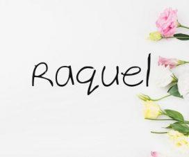 Significado del nombre Raquel