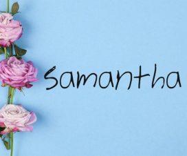 Significado del nombre Samantha