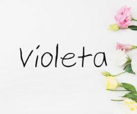 Significado del nombre Violeta