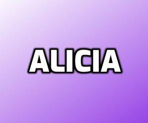 nombre Alicia