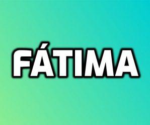 nombre Fátima