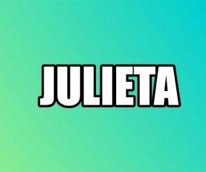 nombre Julieta