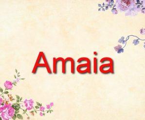 nombre Amaia