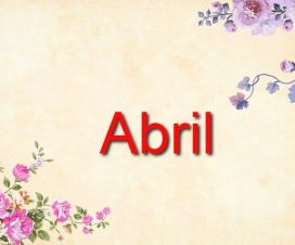 Origen del nombre Abril