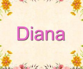 Origen del nombre Diana