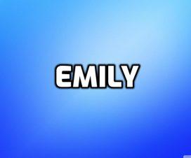 Origen del nombre Emily