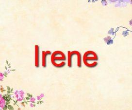 Origen del nombre Irene