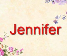 Origen del nombre Jennifer