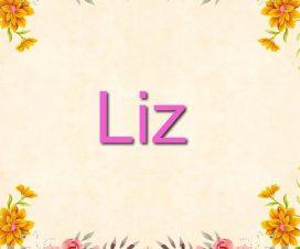 Origen del nombre Liz