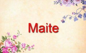 Maite