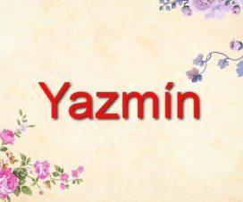 Origen del nombre Yazmín