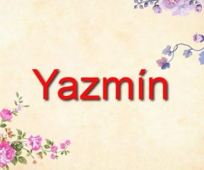 nombre Yazmín