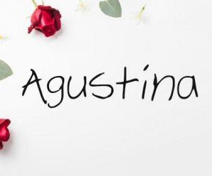 nombre Agustina