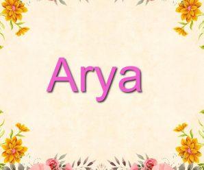 nombre Arya