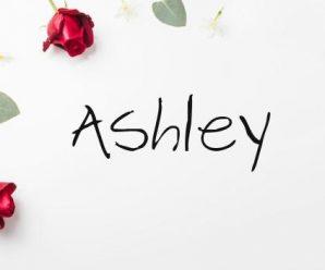 nombre Ashley