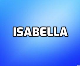 Significado del nombre Isabella