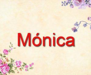 nombre Mónica