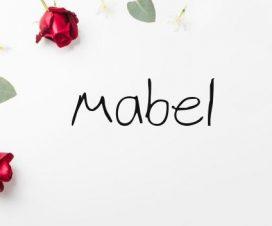 Significado del nombre Mabel