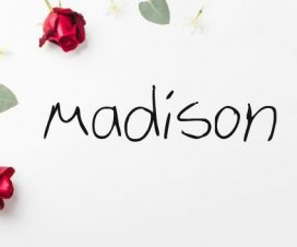 Significado del nombre Madison