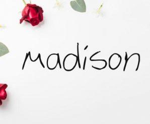 nombre Madison