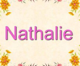 Significado del nombre Nathalie