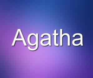 nombre Agatha