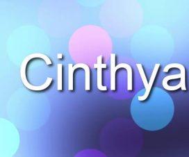 Origen del nombre Cinthya