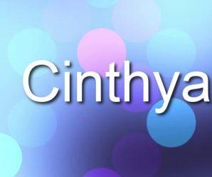 nombre Cinthya