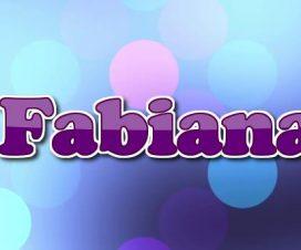 Origen del nombre Fabiana