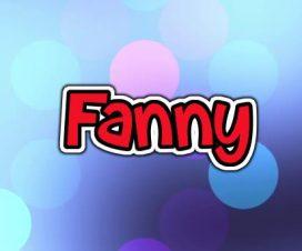 Origen del nombre Fanny