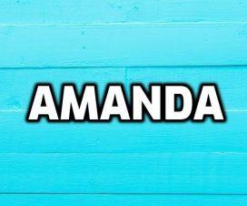 Significado del nombre Amanda