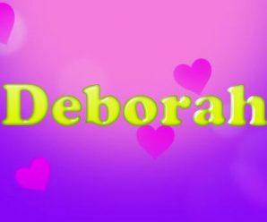 nombre Deborah