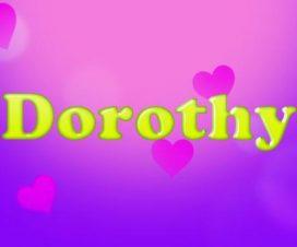 Significado del nombre Dorothy
