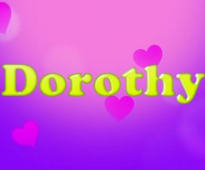 nombre Dorothy