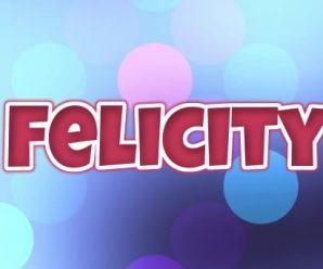 nombre Felicity