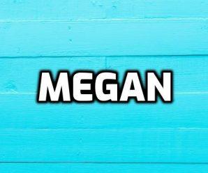 nombre Megan